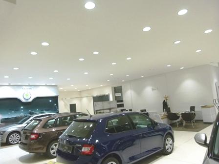 prodejní prostory autosalonu Zlínský kraj