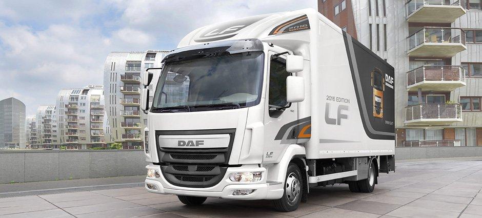 Nové nákladní vozy, ale i ojetá vozidla DAF v Pardubicích