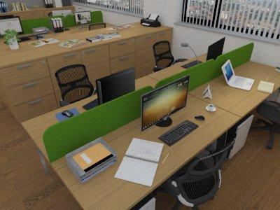 Atypické paravánové systémy Vám na zakázku vyrobí firma Tomáš KYSELA - ErgoOffice