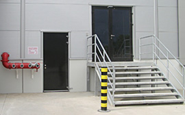 Požární dveře, ocelové dveře, hliníková okna Ostrava