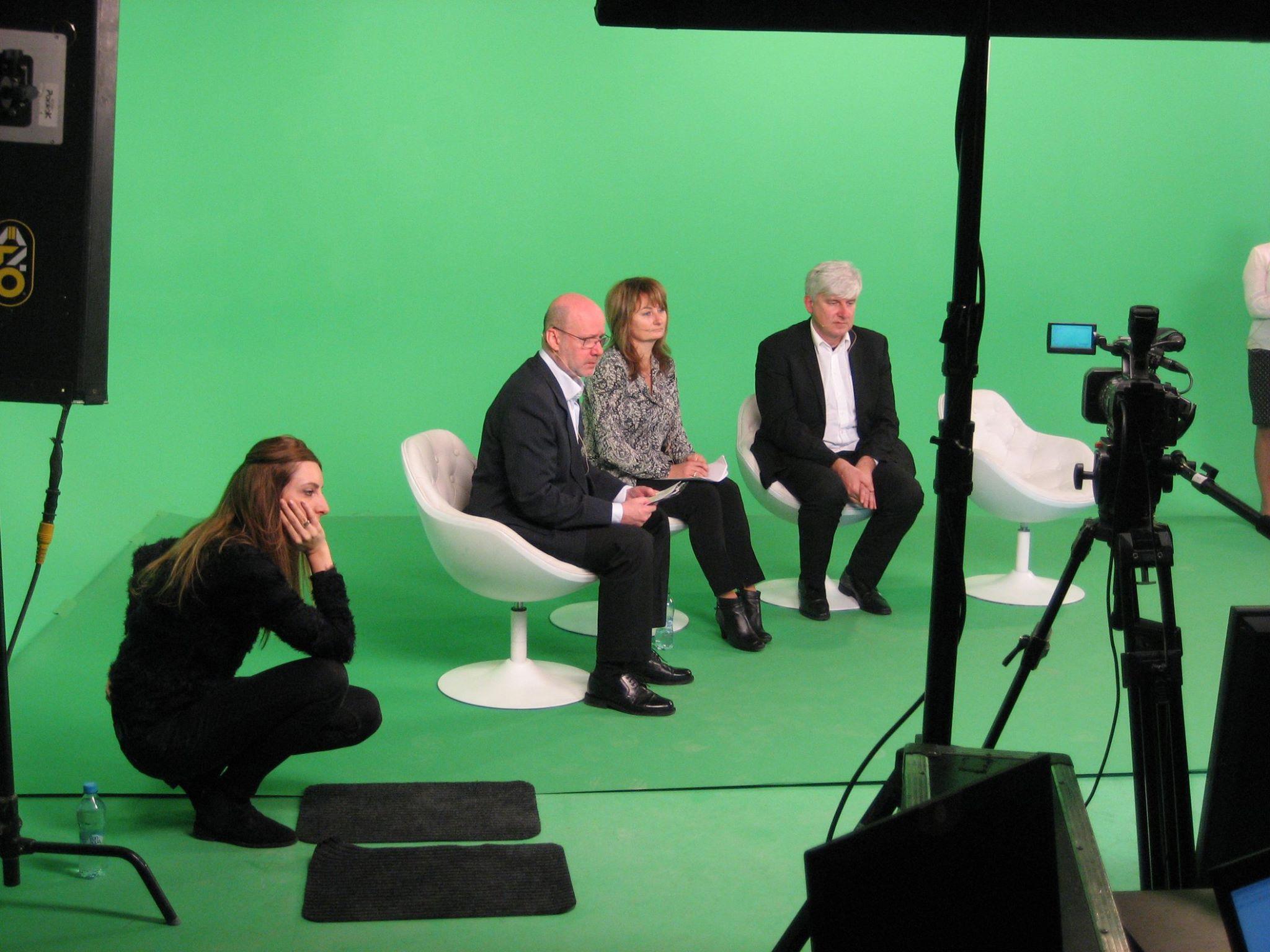 Virtuální prostředí studia oživí on-line přenosy