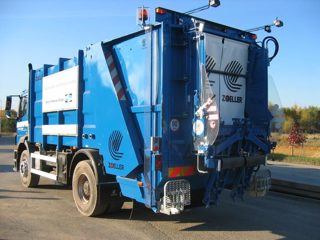 Ssběr směsného komunálního odpadu Valašské Meziříčí