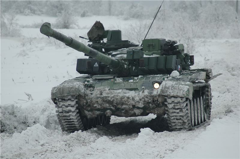 Opravy bojových tanků