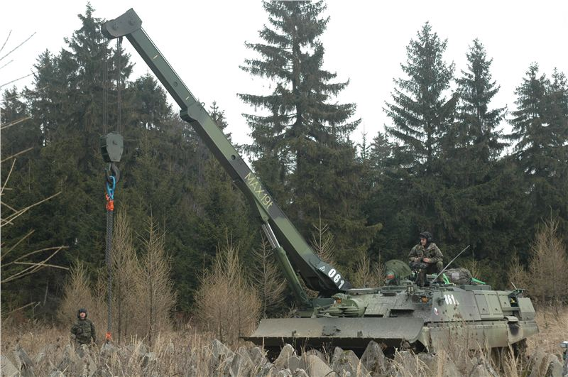 Rekonstrukce vyprošťovacích tanků