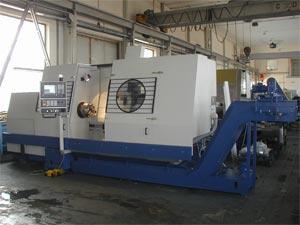 Modernizace řídícího systému pro Soustružnický stroj SPT 32 CNC