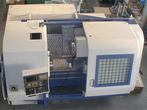poloautomatický soustruh SPU 20 CNC po GO