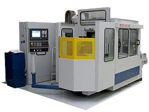 Modernizace CNC stroje - horizontální obráběcí centrum MCFH 40 CNC