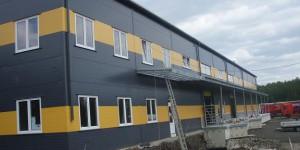 Výstavba starších i nových hal Dačice