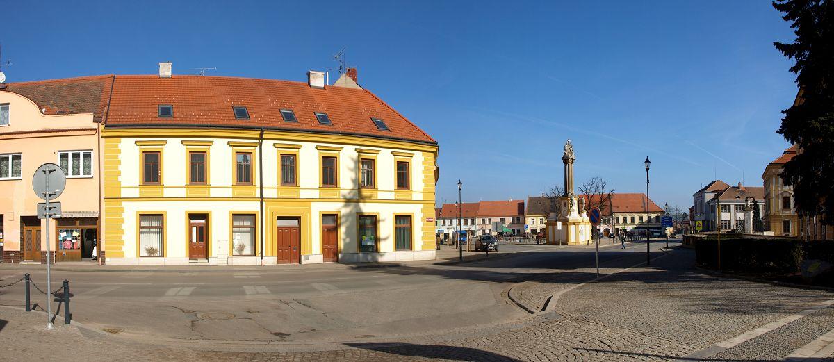 Pokládka dlažby Moravské Budějovice