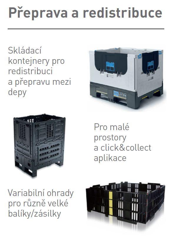Prepravné obaly a prepravky pre E-commerce, internetové podnikanie - dodávame z Českej republiky
