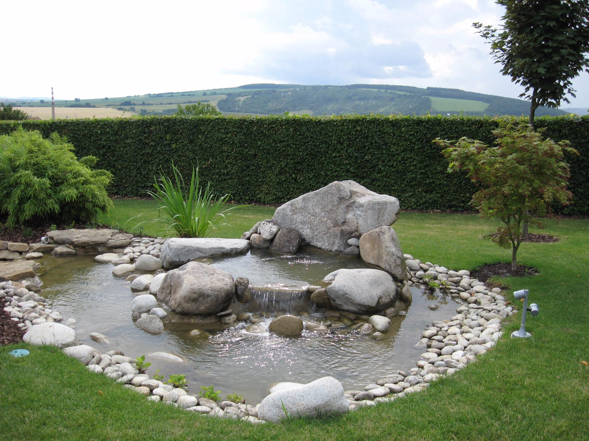 Realizace bydlení a zahrady v přírodě