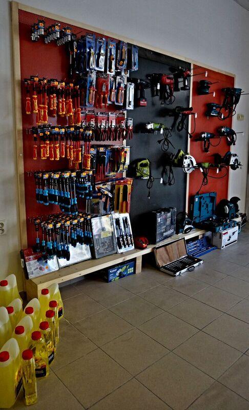 Prodej nástrojů do vaší dílny - ruční, elektrické, pneumatické nářadí