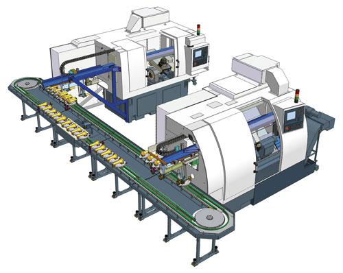 Automatické výrobní linky - projektování a výroba
