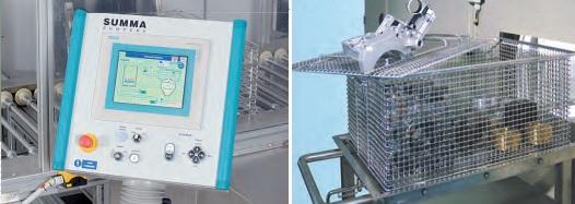 Ultrazvuková zařízení pro náročné průmyslové čištění dílů - výroba