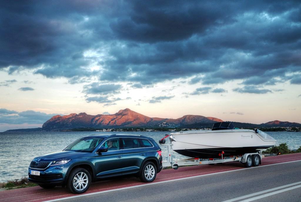 ŠKODA KODIAQ - prostorné a bezpečné SUV s pohonem všech kol (4x4)