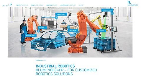 Mechanický a elektrický servis robotů