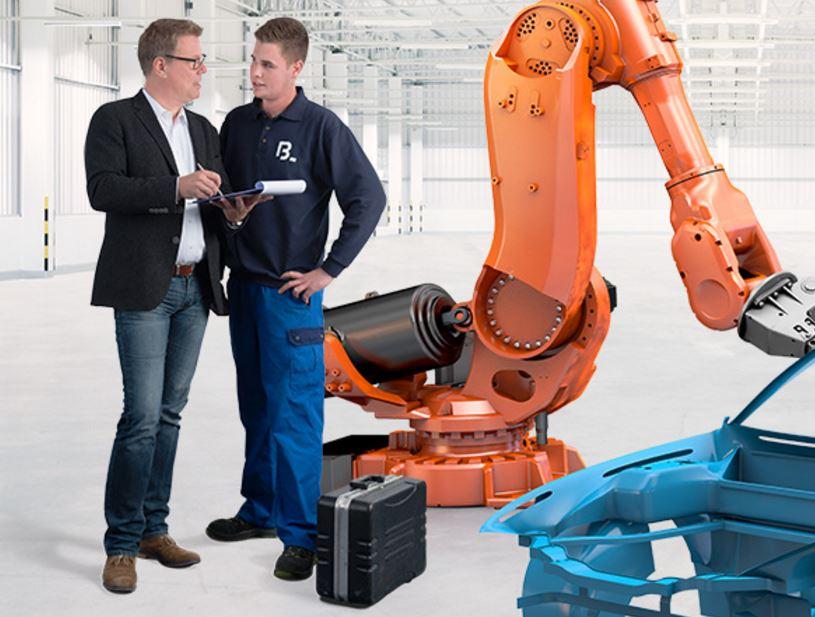 Opravy a modernizace průmyslových robotů