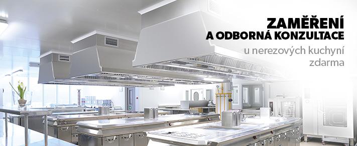 Nerezové kuchyně Praha – zakázková i atypická výroba gastro nábytku