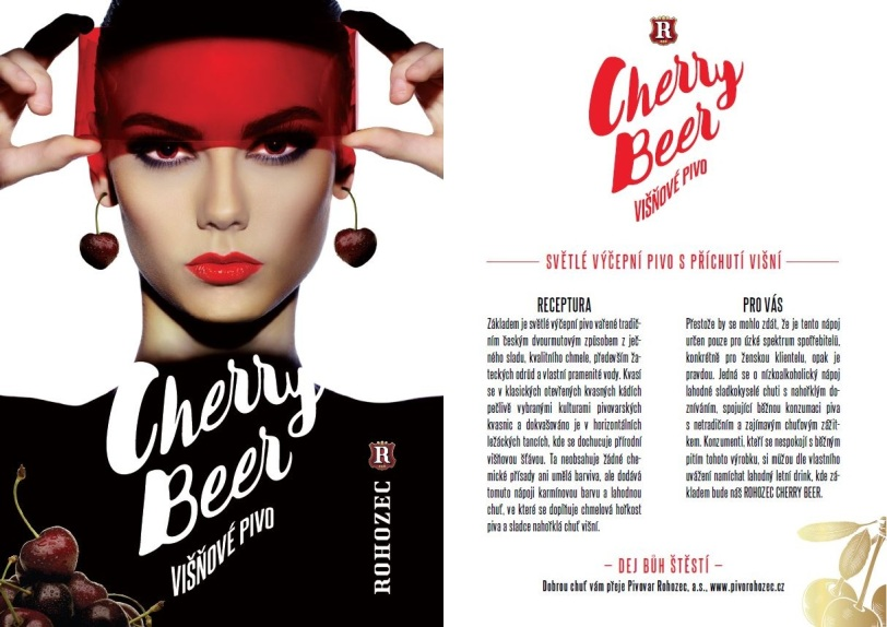 Sprzedaż, produkcja, piwo wiśniowe piwo, piwo z wiśni, napój z piwa, Czechy