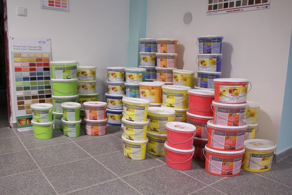 Tónovací centrum, míchání barev Šumperk