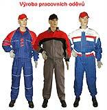 Pracovní oděvy, obuv, montérkové soupravy Olomouc