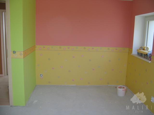 Malování bytů, nebytových prostor, nátěry oken, fasád Zlín