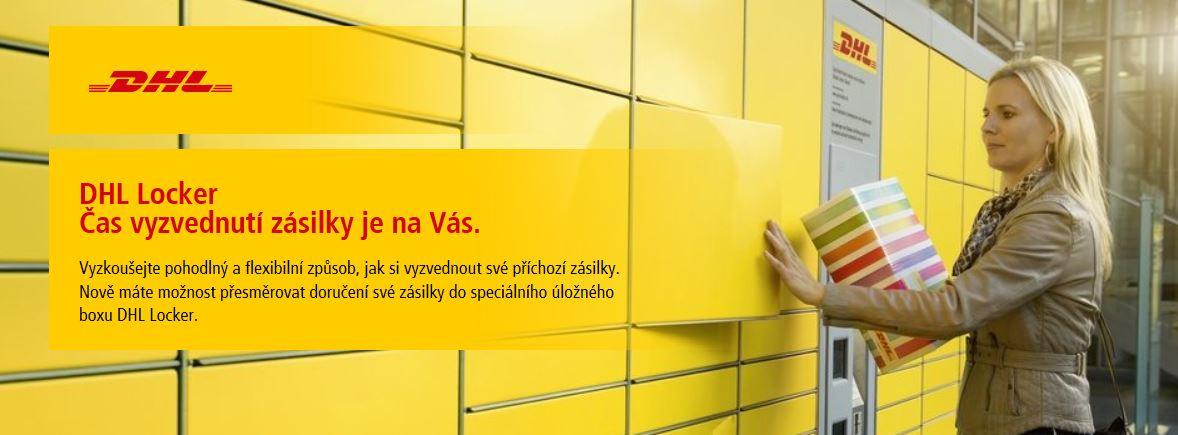 DHL Locker (úložné boxy pro vyzvednutí zásilky) – čas je jen na Vás