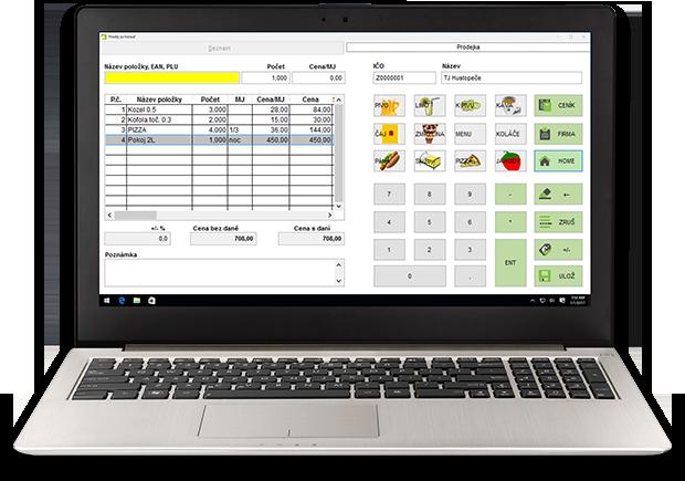 Elektronická evidence tržeb, EET systém DUNA CASH - snadná účtenka pro vaše podnikání