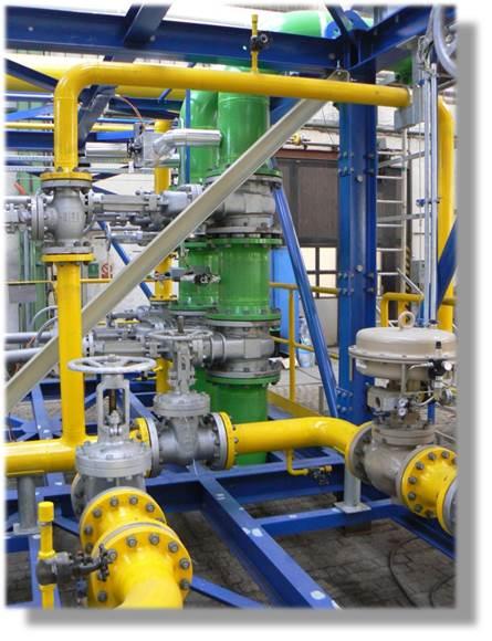 Výroba čtvercových a kulatých potrubních dílů v Hradci Králové