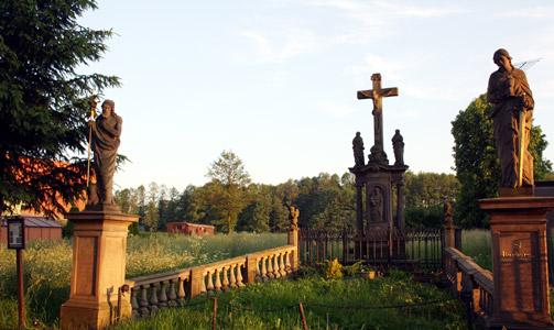 Obec Křinice v okrese Náchod, turistika, ubytování, přírodní a historické památky