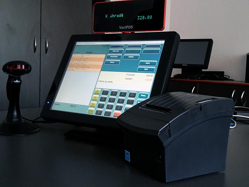 Obchodní, pokladní systém pro velkoobchod, VO - připravený pro EET