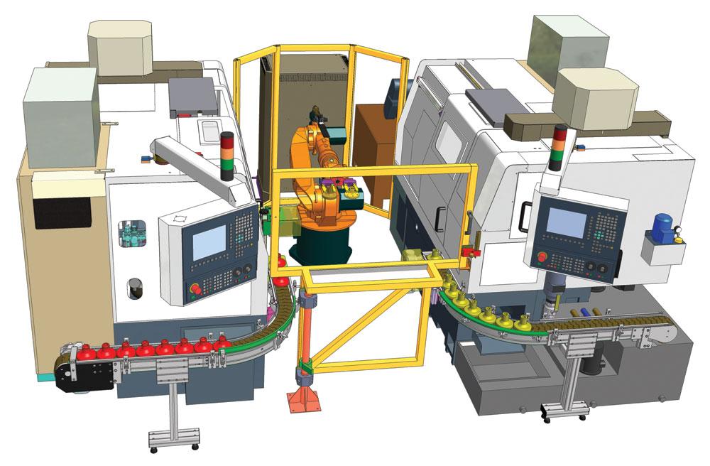 Robotizovaná pracoviště Čelákovice – efektivní a rychlejší výroba