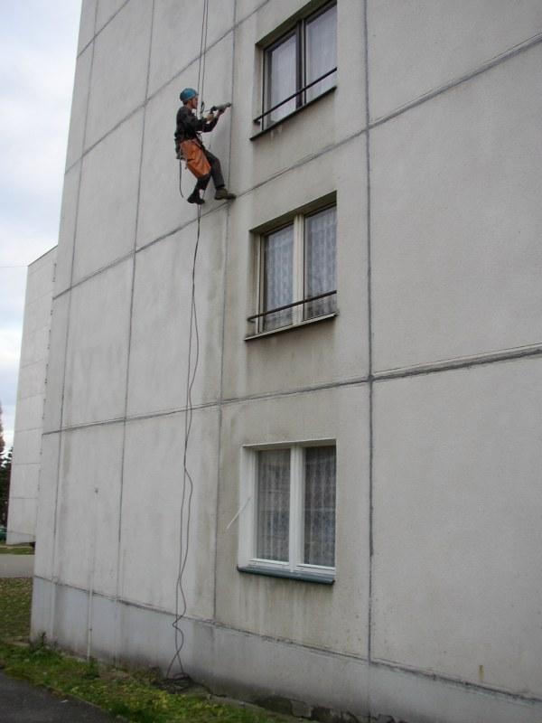 Výškové klempířské práce Kladno