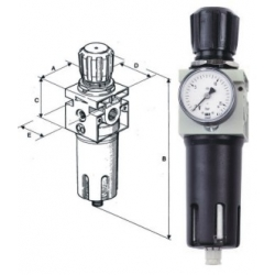 Úprava tlakového vzduchu sušičky filtry separátory Pardubice