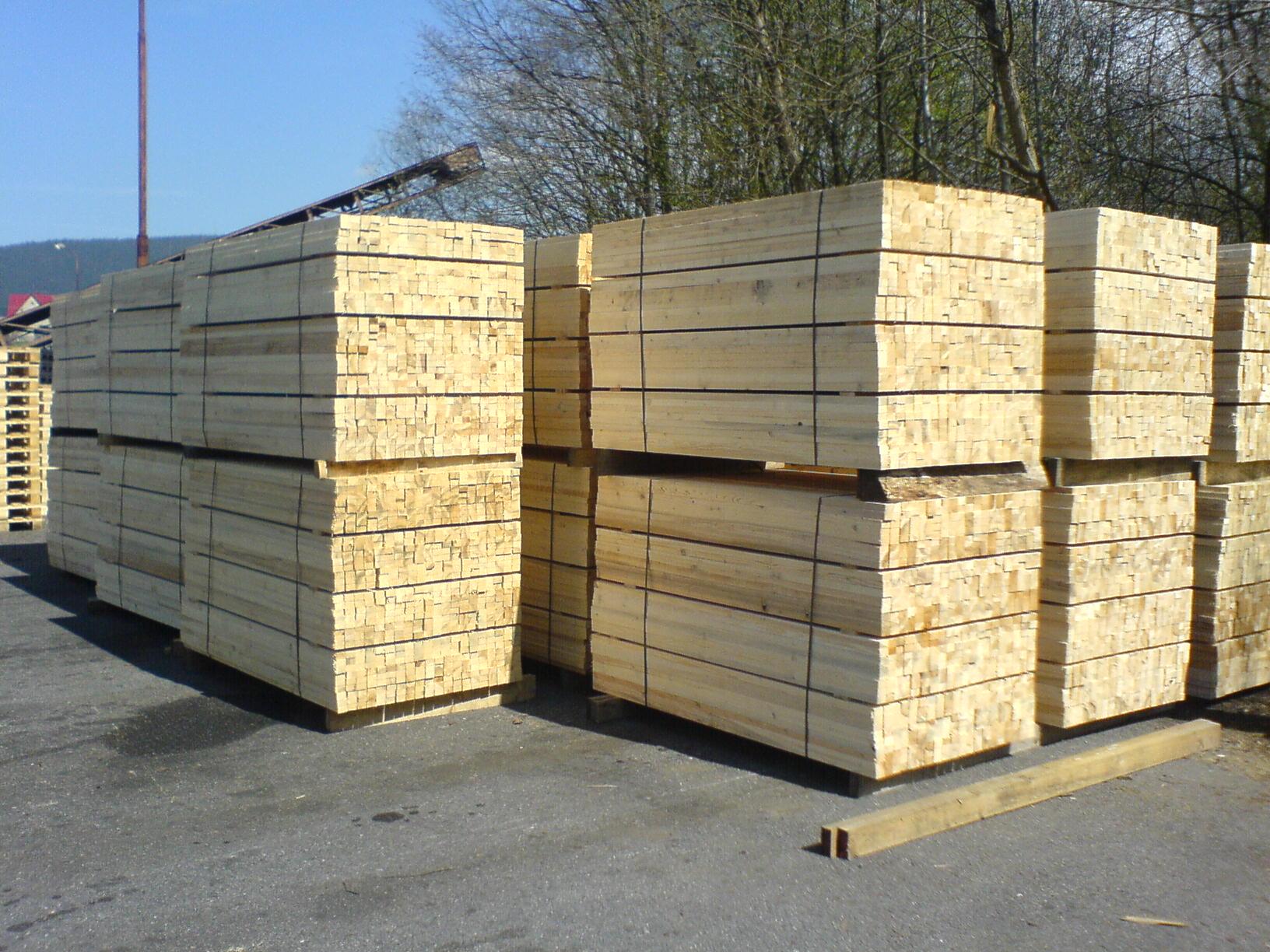 Výroba dřevěných obalů a palet