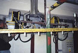 Rekonstrukce elektrické pece, plynové pece