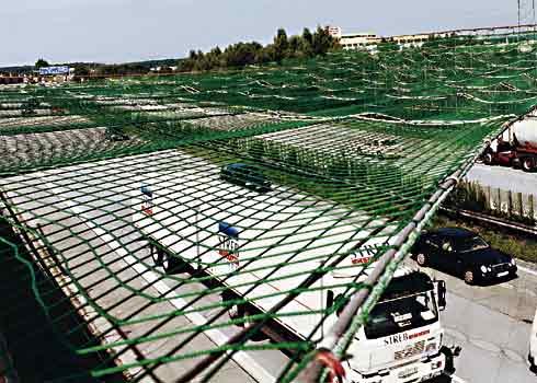 Výroba prodej ochranných sítí sportovních průmyslových Holice
