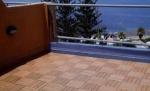 Kvalitní venkovní podlaha s krásným vzorem z ekologického bambusového materiálu