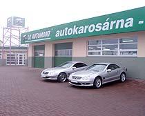 Plnění klimatizací, odtahové vozidlo, autokarosárna Olomouc