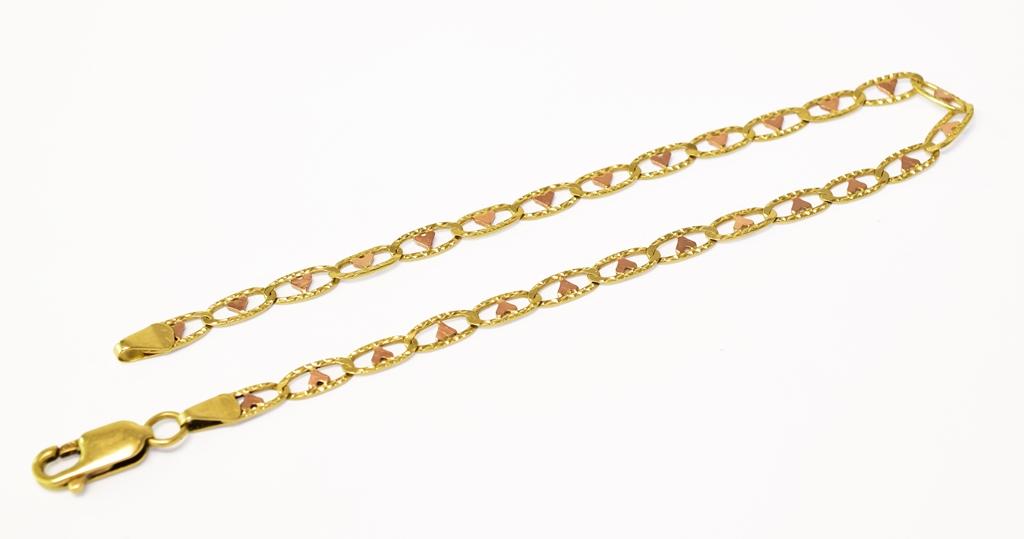 Zlaté náramky, řetízky z bazaru - dámské, pánské použité šperky