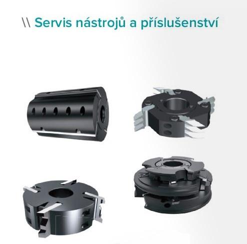 servis, opravy obráběcích nástrojů - Zlín, Kroměříž
