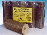Dřevěné ekobrikety, pelety, kůrové ekobrikety Uničov