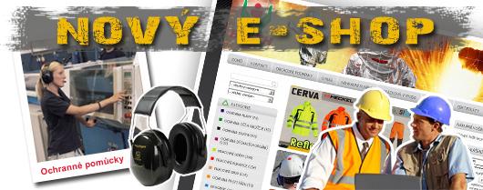 E-SHOP, ochranné pracovní oděvy, obuv, rukavice, přilby, masky