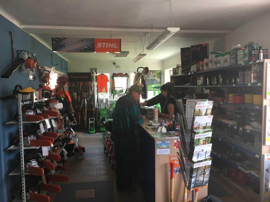 Prodej a servis zahradní techniky Stihl a Viking - autorizovaný prodej