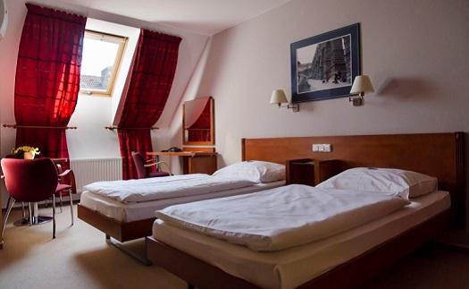 Dlouhodobé ubytování v hotelu v centru Opavy pro firmy