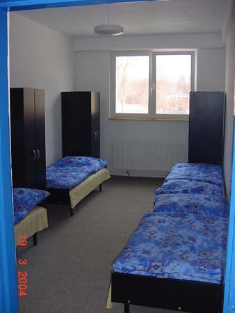 Ubytování v hotelu a pronájem sportovní haly Roudnice nad Labem