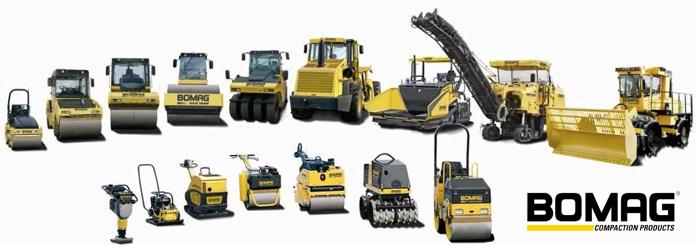 Pronájem stavební mechanizace a strojů - vibrační desky a válce, kompresory, elektrocentrály
