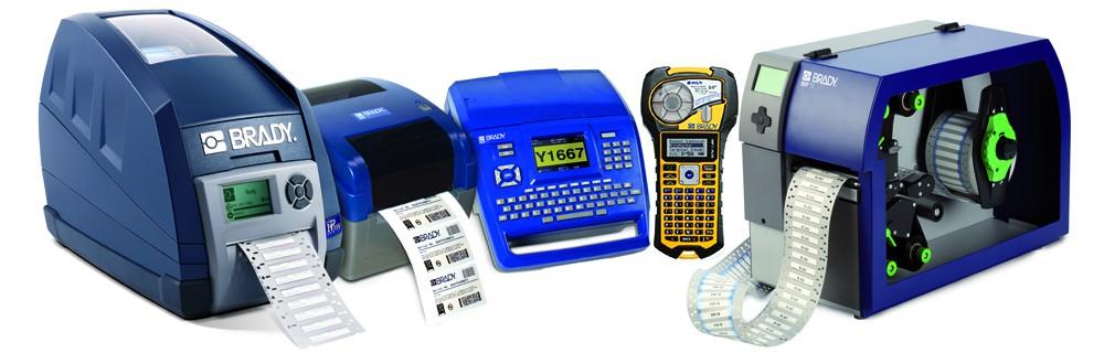 Multifunkční průmyslové tiskárny BRADY - pro tisk výrobního, bezpečnostního a směrového značení