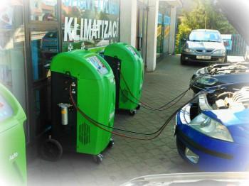 Oprava, údržba, čištění, dezinfekce a plnění autoklimatizace