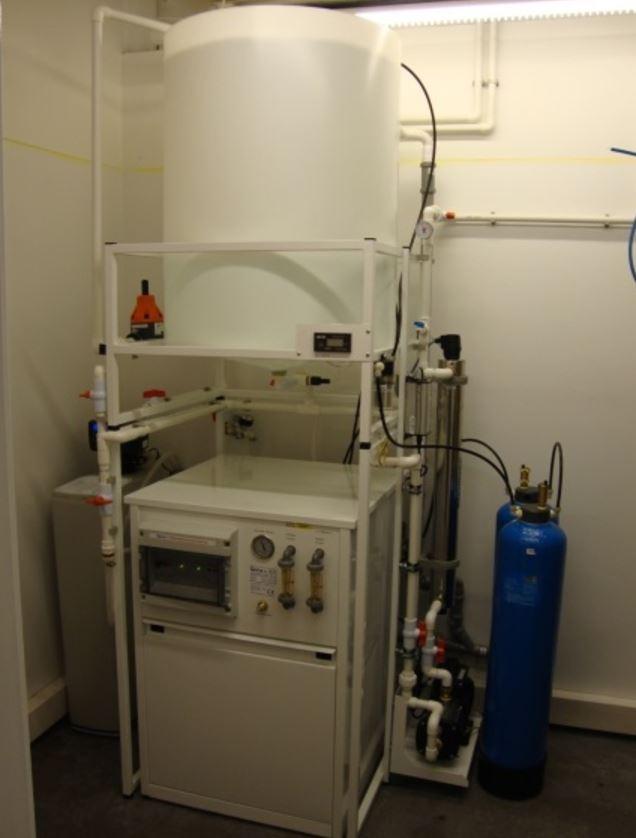 Ultračistá voda pro lékárny a laboratoře ČL 9000 – mikrobiologicky nezávadná voda